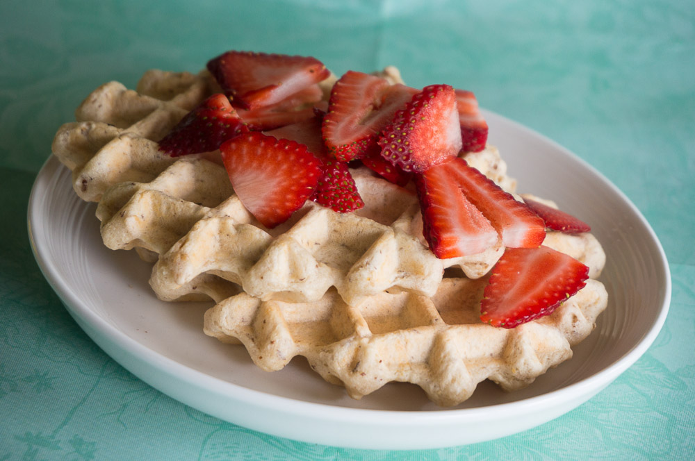 Best-Ever Vegan Waffles-3