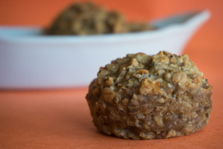 Bowl Of Oatmeal Muffins-2