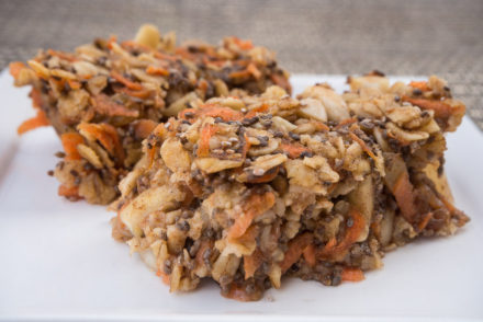 Carrot Cake Oatmeal Bars-3