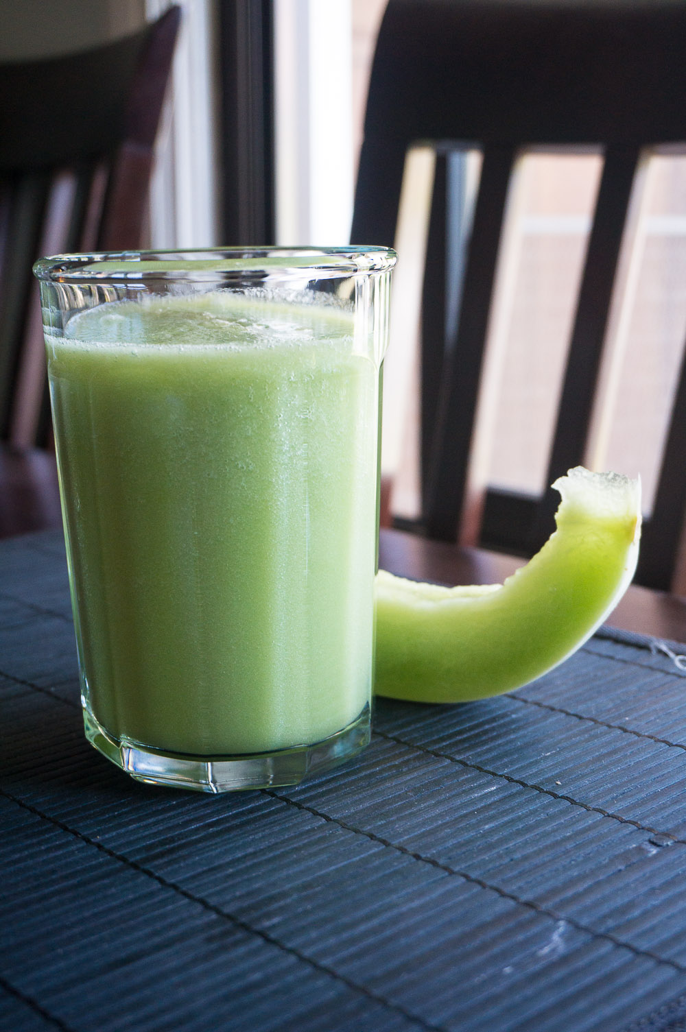 Cucumber Honeydew Smoothies