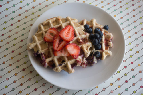 Mixed Berry Waffles-3