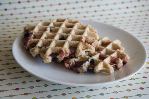 Mixed Berry Waffles