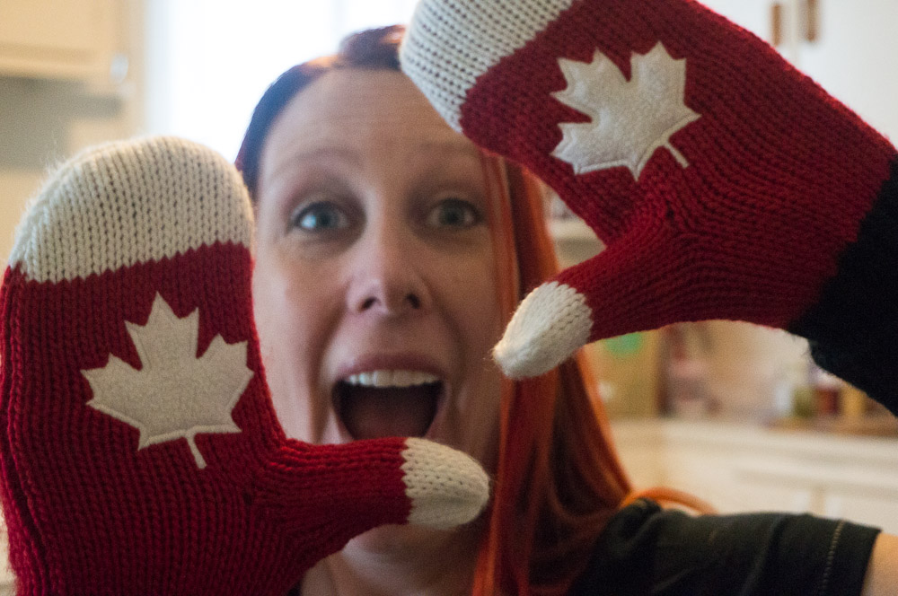 canadian mittens