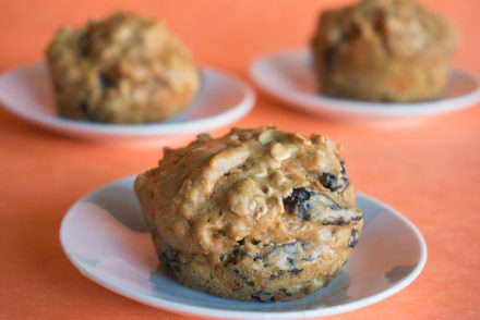 Carrot Raisin Carrot Cake Muffins-2