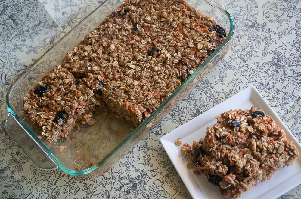Heavenly Carrot Cake Baked Oatmeal-2