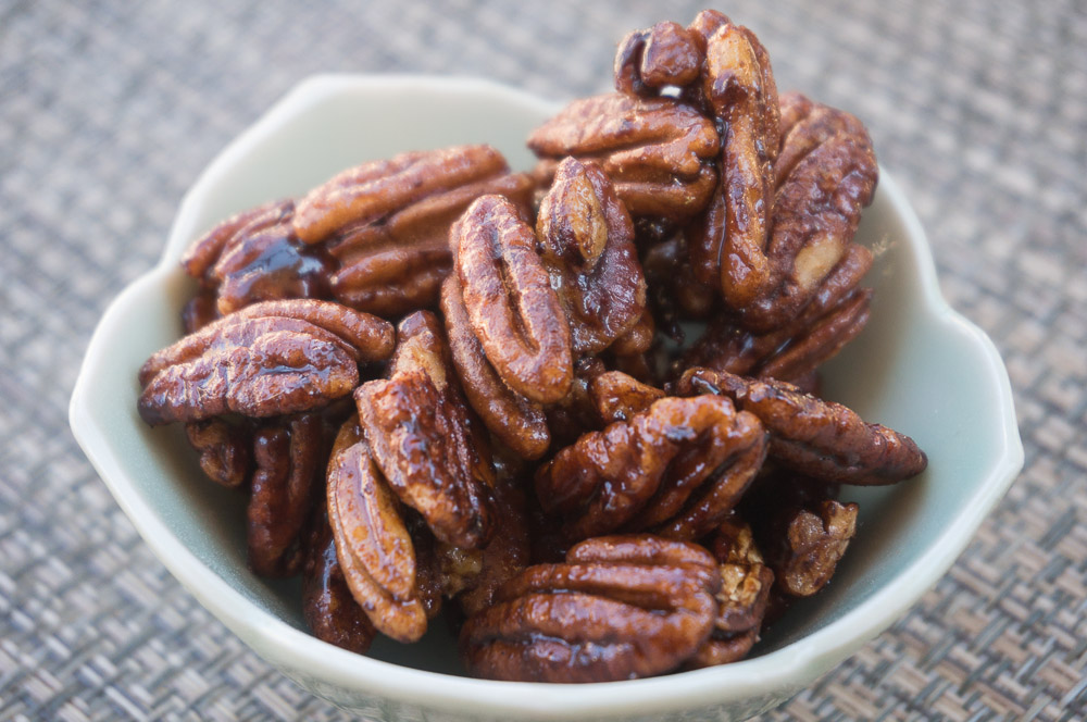 Cinnamon Maple Pecans-3