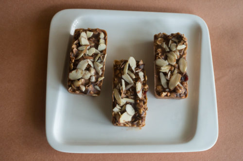 Red White and Blue Granola Bars