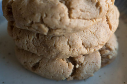 Vegan Peanut Butter Cream Cheese Cookies-3