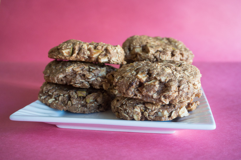 Apple - Oat Breakfast Cookies-2