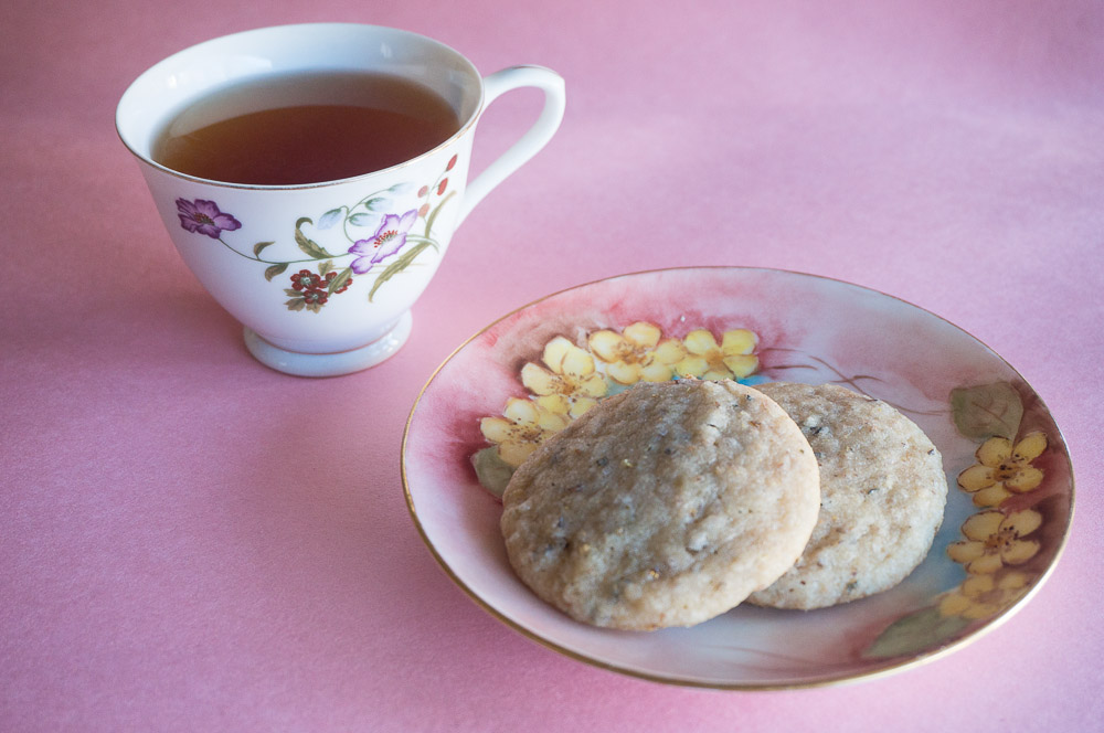Calming camomile flower cookies-2