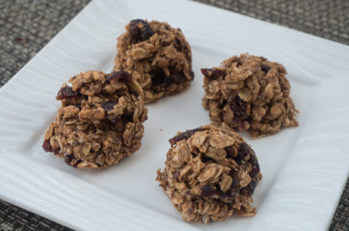 Chocolate Almond Cranberry Breakfast Cookies-2