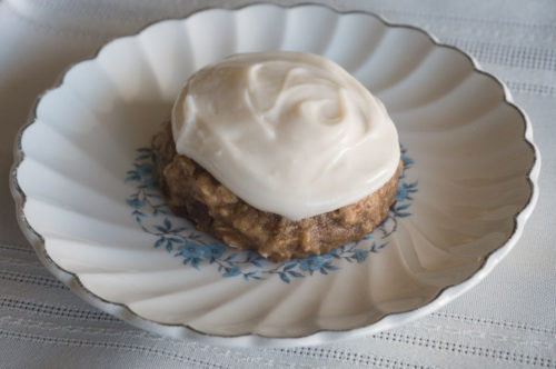 Gluten-Free Banana Bread Cookies with Cream Cheese Frosting-2