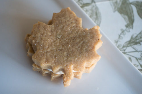 Maple Walnut Sandwich Cookies-3