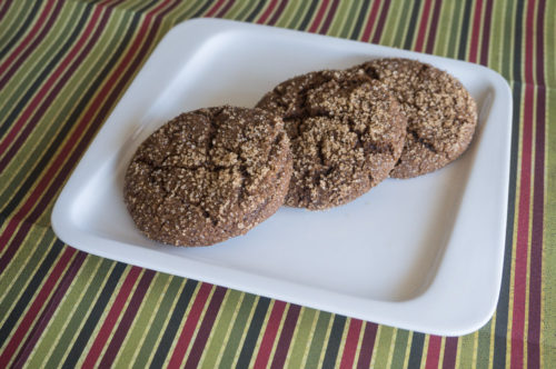 Molasses Cookies-3