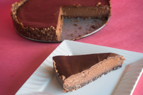 Raw Vegan Chocolate Cheesecake-6