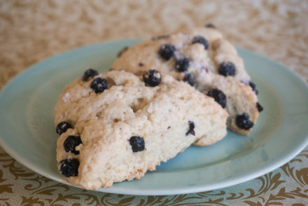 Lemon Blueberry Scones-2