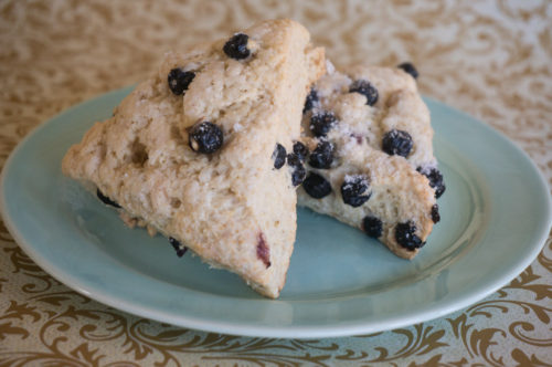 Lemon Blueberry Scones-3