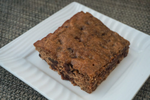 Vegan Banana Chocolate Chip Snack Cake-2