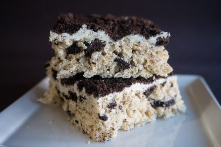 Vegan Oreo Rice Krispie Treats-3