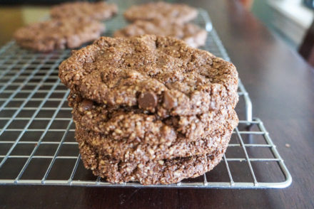 Double Chocolate Oat Cookies-3