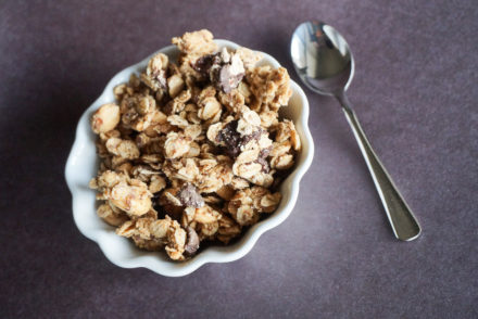 Peanut Butter-Chocolate Chip Granola-3