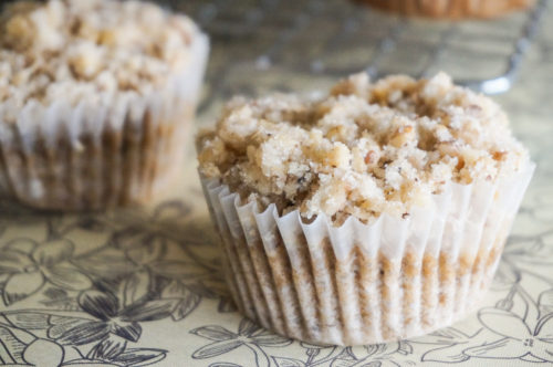 Banana Walnut Crumble Muffins-3